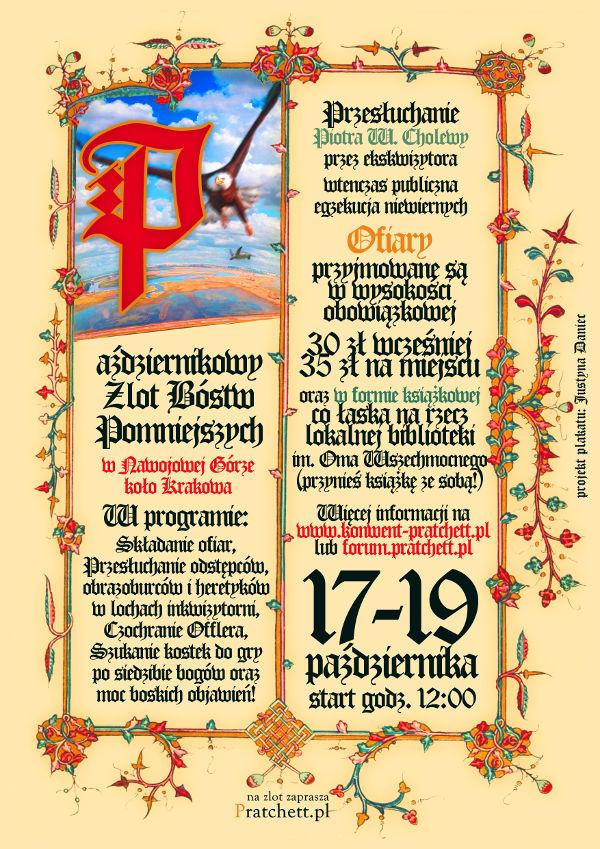 Plakat Zlot Bóstw Pomniejszych